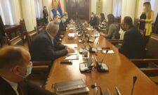 Dačić razgovarao sa stalnom predstavnicom Razvojnog programa UN u Beogradu i v.d. šefa OEBS-a u Beogradu