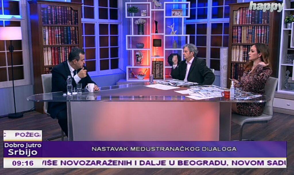 Ивица Дачић гост јутарњег програма на ТВ Хепи: Eтички кодекс мора да заживи у Скупштини