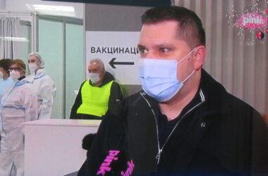 Никодијевић: Добар одзив грађана за вакцинацију, поступак протиче без проблема