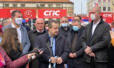 Ивица Дачић и Драган Марковић Палма посетили су данас Зајечар