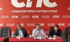 Одржан састанак са председницима општинских организација ГрО СПС Београд