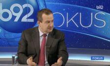"""Дачић у емисији """"Фокус"""" на ТВ Б92 упитао: Шта ако Србија донесе резолуцију у којој је геноцид оно што Његош описује?"""