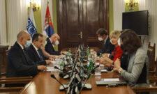 Састанак Ивице Дачића са генералном секретарком ОЕБС