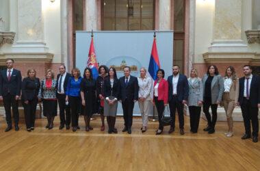 Судије положилe заклетву пред председником Народне скупштине Ивицом Дачићем